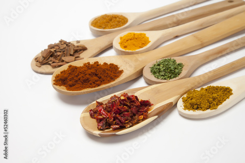Photo Stands Herbs 2 Colorful Spices