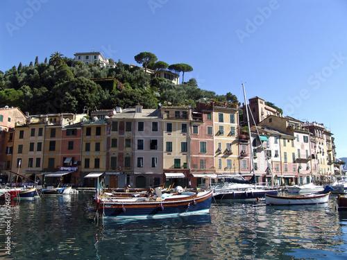 Canvas Prints The famous Portofino village