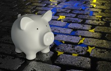 Piggy Bank -  Euro Reflection