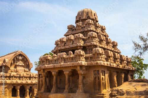 Fényképezés  Five Rathas temple
