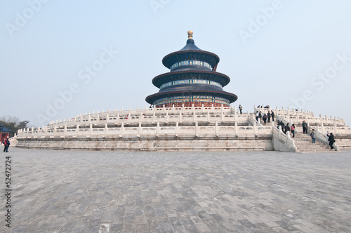 Foto op Aluminium Beijing Hall of Prayer for Good Harvests in Temple of Heaven in Beijing