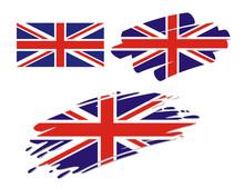 Brush Flags Great Britain