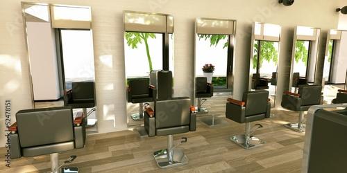 Fotografia  Hairstylist makeup Saloon Parrucchiere Pettinatura 3d