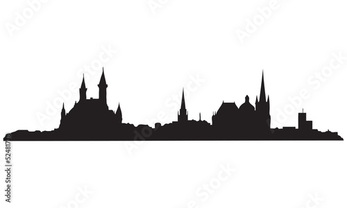 Aachen Skyline Wallpaper Mural