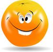 pomarańcza uśmiech
