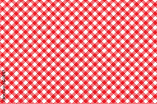 Fototapeta  Red Italian Picnic Cloth