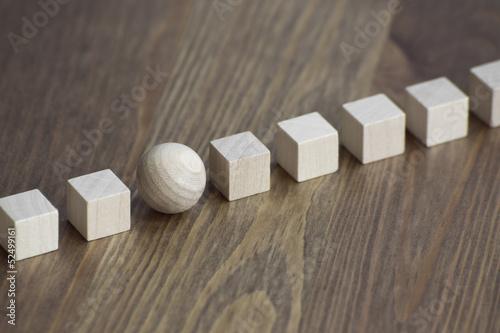 Fotografie, Obraz  Holz / Inovace