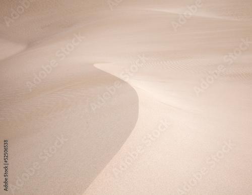 Photo barkhan dune
