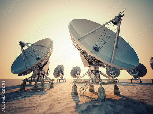 Fotografie, Tablou  Satellite dish.