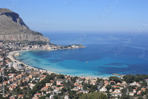Cadres-photo bureau Palerme Panoramica Mondello