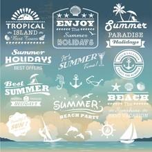 Vintage Summer Typography Desi...