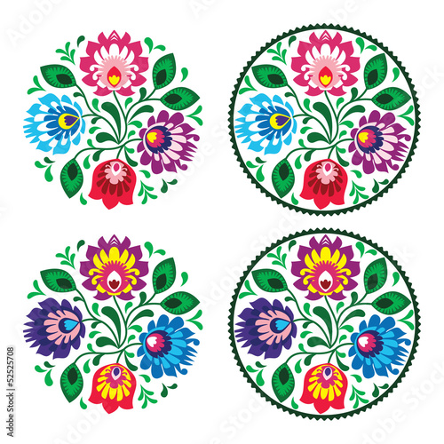 polskie-folkowe-wzory