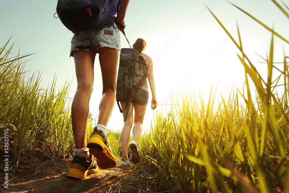 Fototapety, obrazy: Hikers