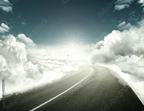 Fotografie, Obraz  Road to hope