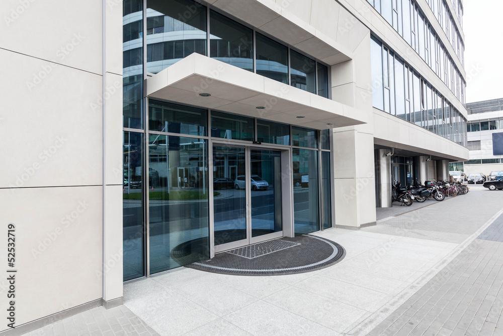 Fototapeta Office building- door