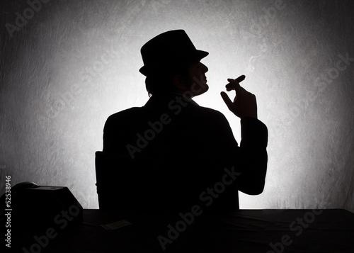 mafia profile Fototapet