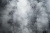 Die Wolken hängen ringsherum...