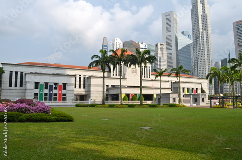 Singapore parliament building Wallpaper Mural
