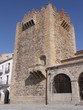 Old tower in Caceres, Spain