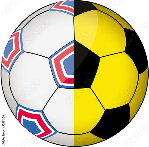 Photo  Fußball Duell 1
