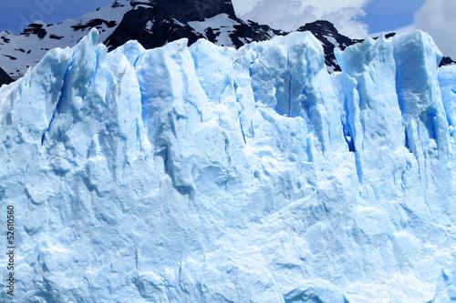 Foto op Aluminium Fantasie Landschap Glacier Cliff