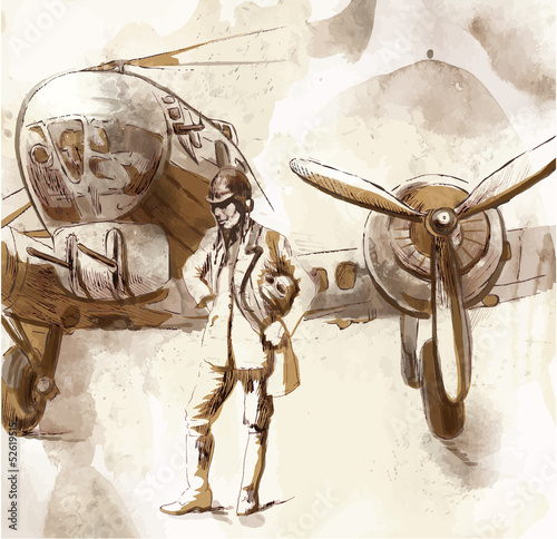 World between 1905-1949 - Pilot (drawing into vector)