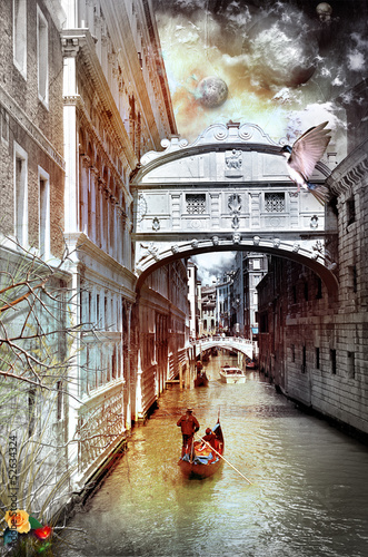 Canvas Prints Imagination Venice dreams series