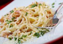 Spaghetti Carbonara On Bowl