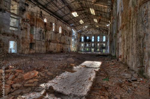 Papiers peints Les vieux bâtiments abandonnés Abandoned sugar factory
