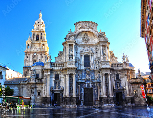 Cathedral of Murcia, baroque architecture, Jaime Bort, Spain