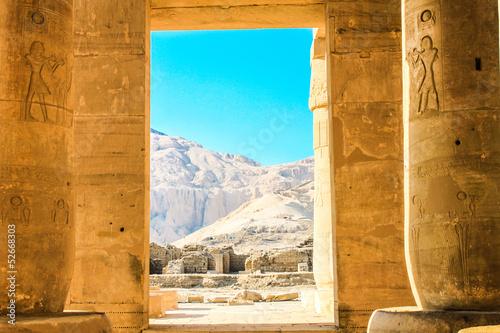Tuinposter Egypte Ramesseum temple, Egypt