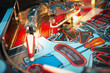 canvas print picture - pinball