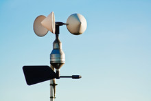 Anemometer On Weather Station