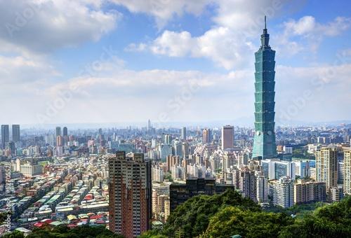 Photo  Taipei Skyline