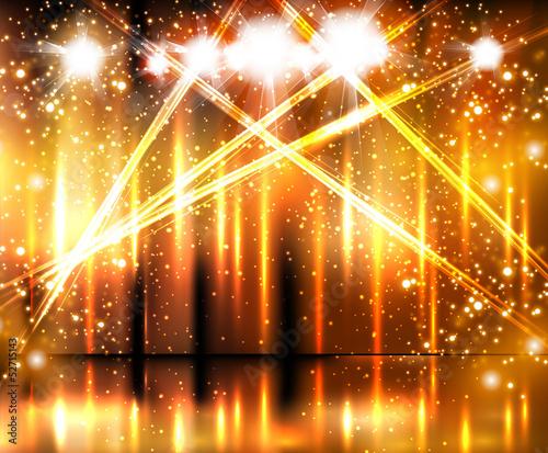 Obraz light stage background - fototapety do salonu