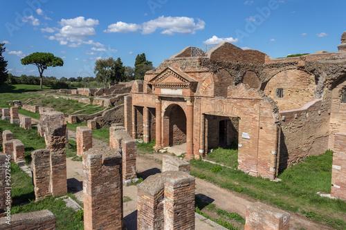 Poster Ruine Ostia Antica ruins
