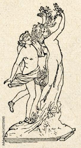 Fotografia Apollo and Daphne (Bernini)