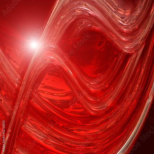 Staande foto Leder futuristic wave background design with lights