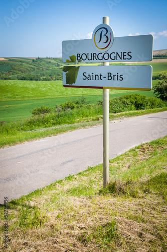 Spoed Foto op Canvas Zuid-Amerika land Saint bris le vineux