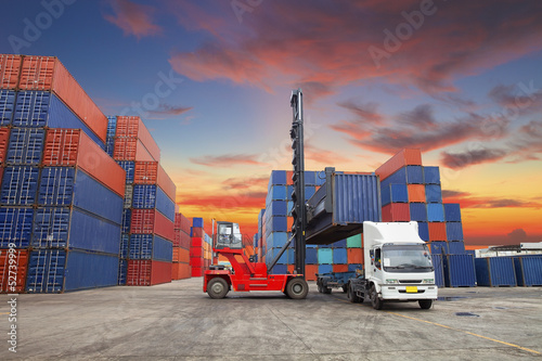 Fotografie, Obraz  Containers