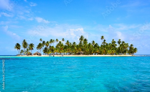 Photo Stands Caribbean Insel Paradies