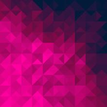 Pink Geometric Background