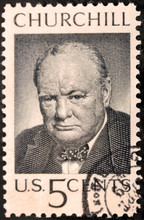 Churchill US Stamp