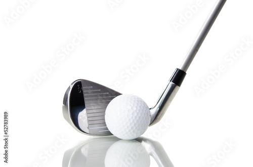 Fotografia golfschläger und ball