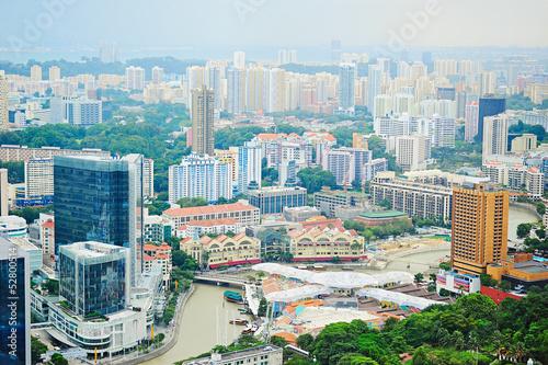 Photo  Singapore riverbank