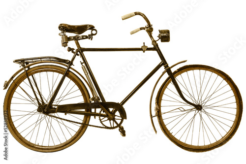 Keuken foto achterwand Fiets Retro styled image of a nineteenth century bicycle