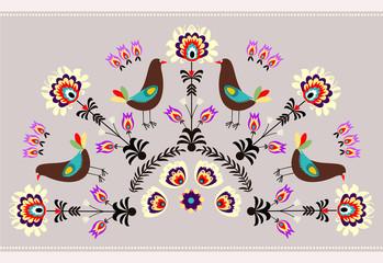 Wzór z ptakami