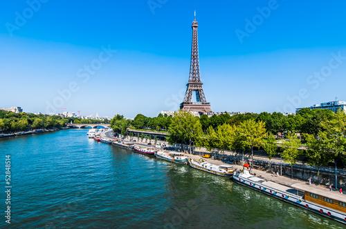 the eiffel tower paris city France