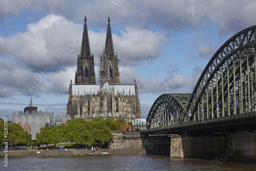 Foto op Plexiglas Historisch geb. Köln - Kölner Dom