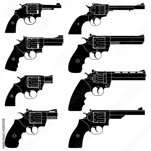 Revolver Wallpaper Mural